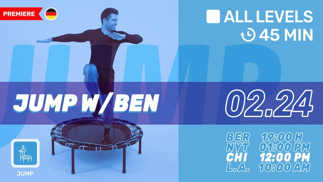 bellicon® JUMPING FITNESS | 2/24/21 | Ben