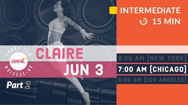 Carve It® AB-session | 6/3/20 | Claire