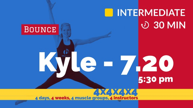 4x4x4x4 Challenge: Week 1 - Defined Arms | 7/20/20 | Kyle