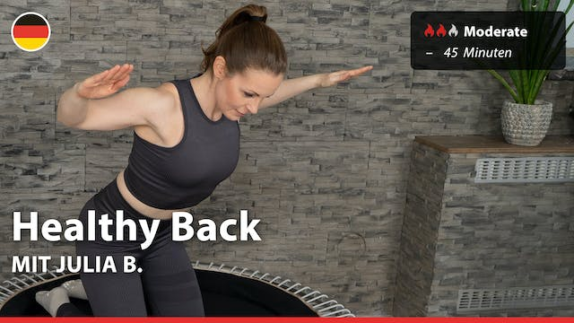 Healthy Back | 3/19/21 | Julia B.