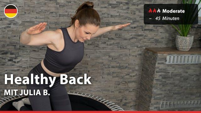 Healthy Back | 3/19/21 | Julia B.