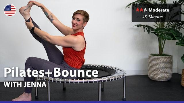 Pilates+Bounce | 8/30/21 | Jenna