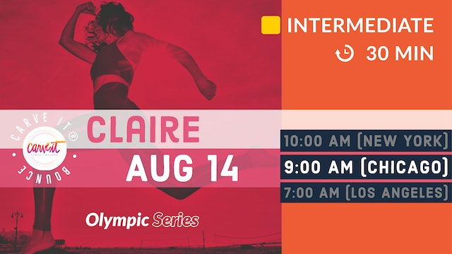 Carve It® Olympic Adventure Bounce | 8/14/20 | Claire