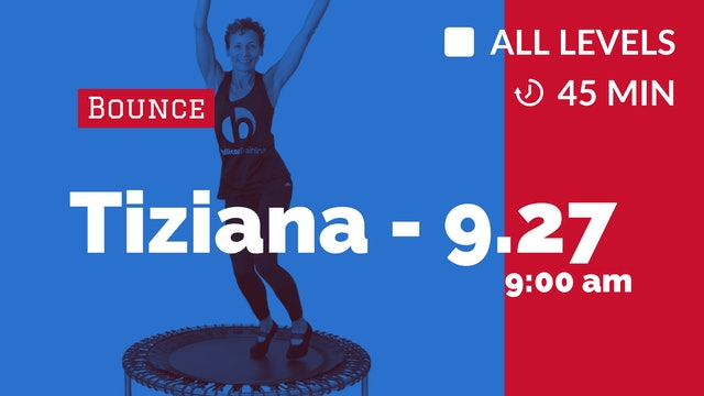 Sweat Those Inches Off  - Week 4 | 9/27/20 | Tiziana