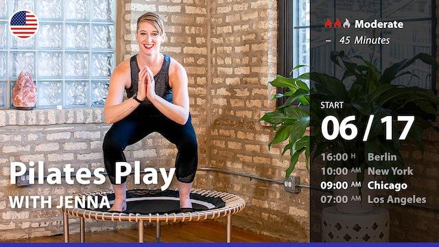 [LIVE] Pilates Play | 6/17/21 | Jenna