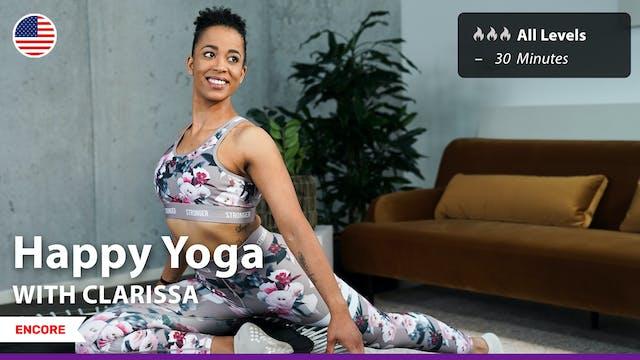 [ENCORE] Happy Yoga  | 6/18/21 | Clar...