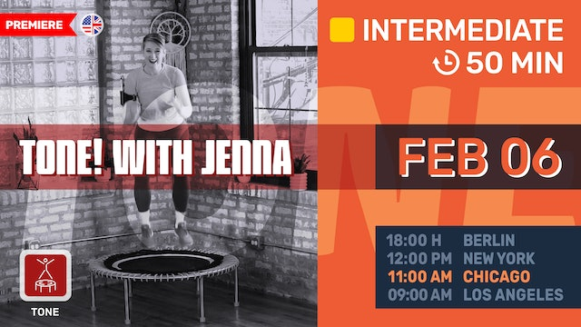 Cardio Conditioning Bounce | 2/6/21 | Jenna