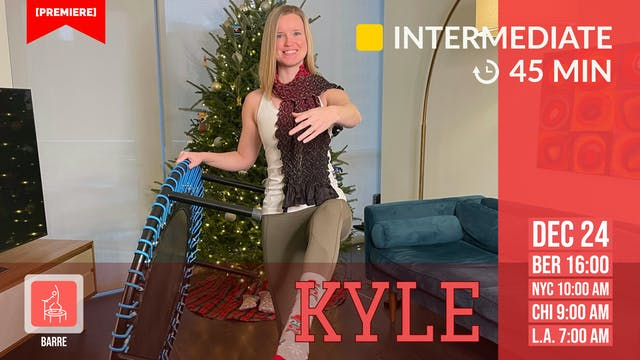 Happy X-Mas Barre | 12/24/20 | Kyle