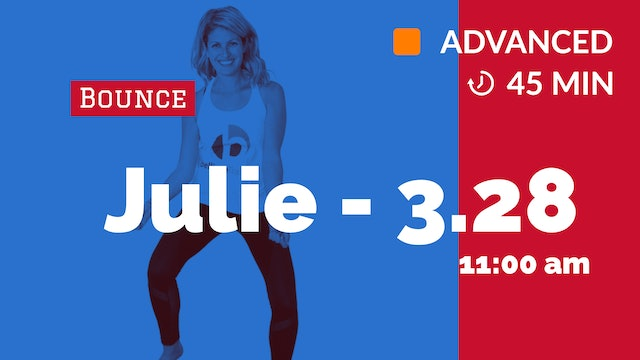 Amped Up Bounce | 3/28/20 | Julie