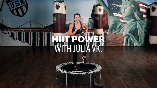 HIIT POWER with Julia vK.