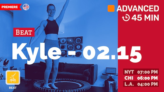 Level UP Your Cardio Part II | 2/15/21 | Kyle