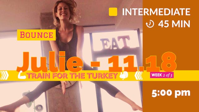 TRAIN for the Turkey: Week 2 | 11/18/...