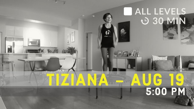 Bounce to the elements of Nature: Water | 8/19/20 | Tiziana