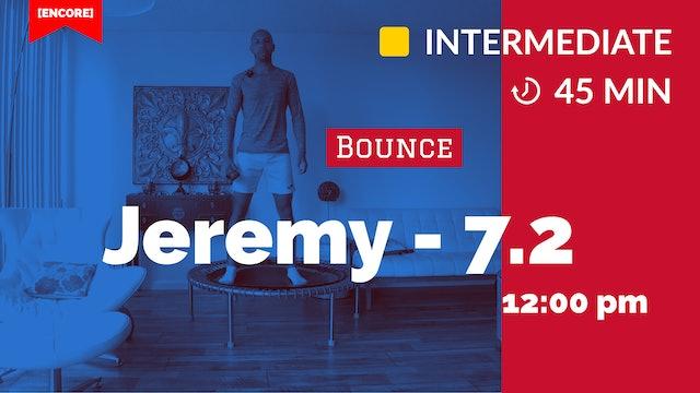 [ENCORE] Cardio Burn Bounce | 7/3/20 | Jeremy