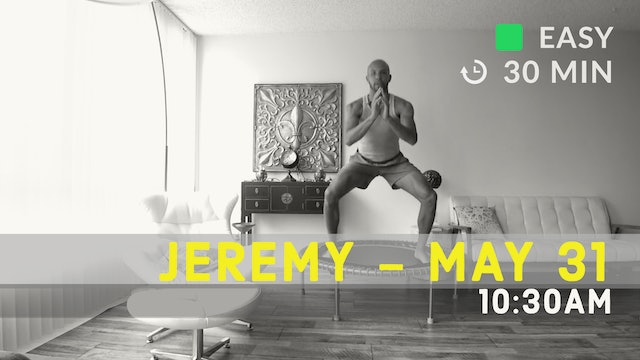 Move, Stretch, and Detox | 5/31/20 | Jeremy