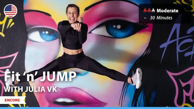 [ENCORE] Fit 'n' JUMP | 9/18/21 | Julia vK.