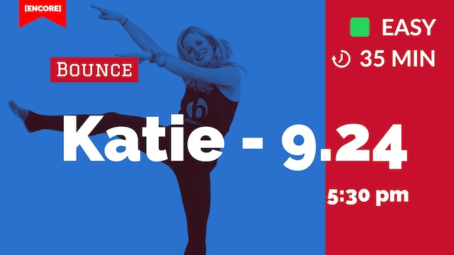 [ENCORE] Beginner Bounce + Balance | 9/24/20 | Katie