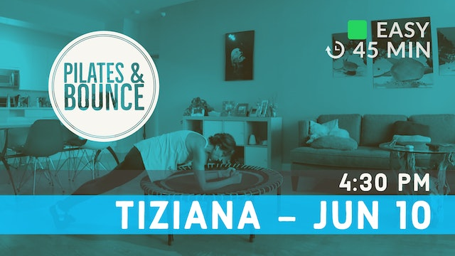 Strong Core, Soft Bounce | 6/10/20 | Tiziana