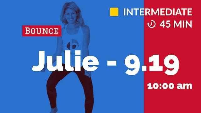 LET'S DANCE! Saturday Bounce | 9/19/20 | Julie
