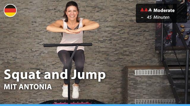 Squat and Jump | 5/14/21 | Antonia
