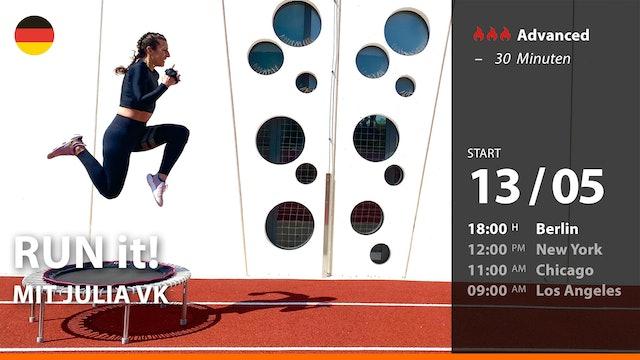 [PREMIERE] RUN it! | 5/13/21 | Julia vK.