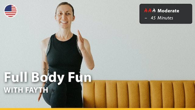Full Body Fun   8/1/21   Fayth