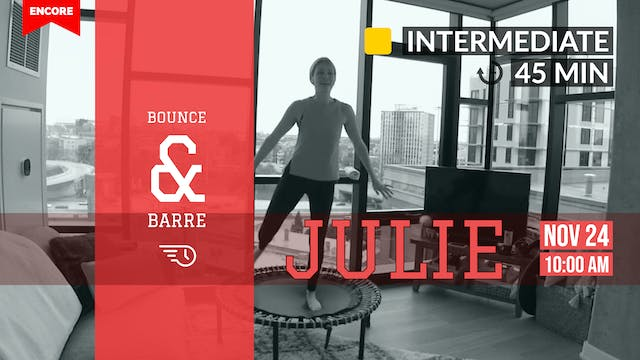 [ENCORE] Latin Pop Barre + Bounce | 1...