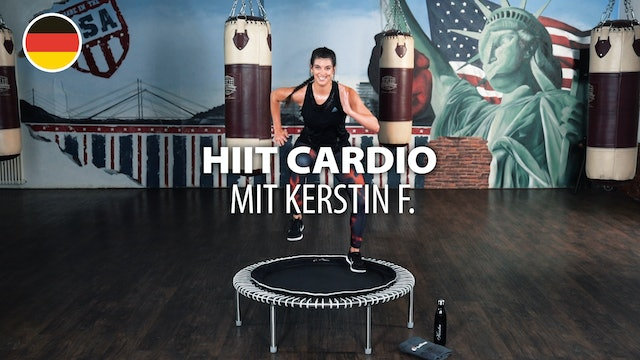 HIIT CARDIO with Kerstin F. | bellicon Home