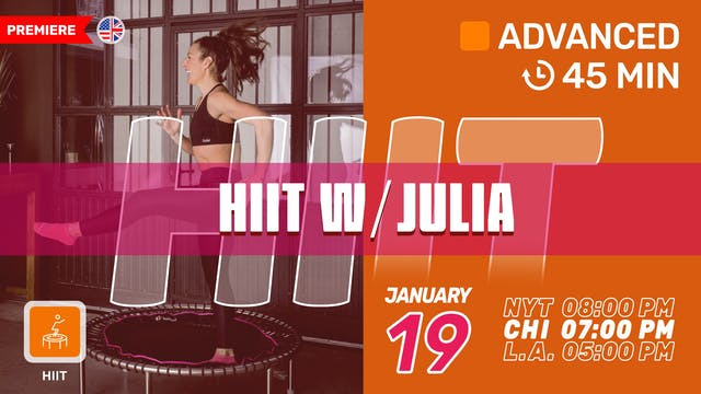 Performance HIIT | 1/19/21 | Julia vK.