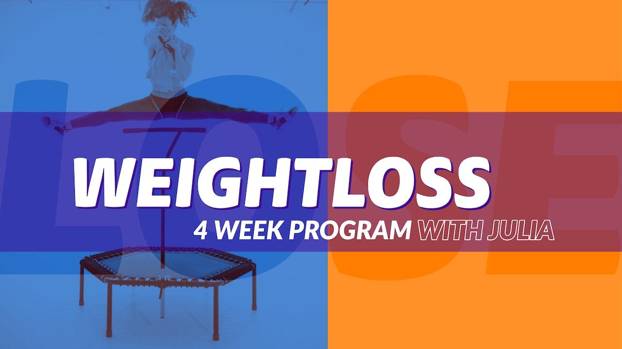 4 Week Weightloss Challenge