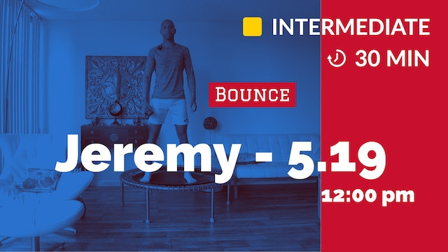 Bounce and Push Up Challenge! | 5/19/20 | Jeremy