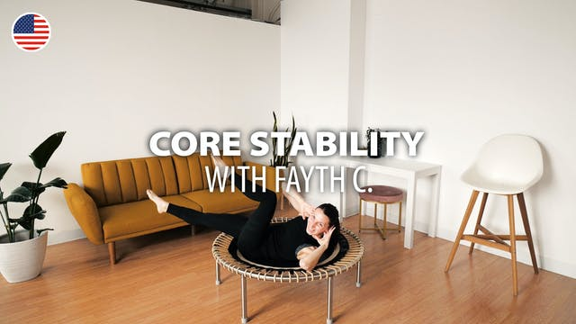 CORE STABILITY with Fayth