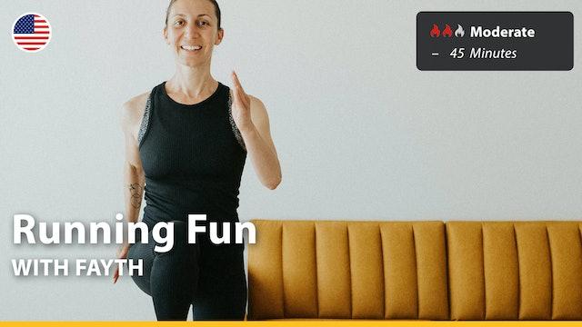 Running Fun   8/8/21   Fayth