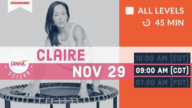 [PREMIERE] Carve It®|BASICS | 11/29/20 | Claire