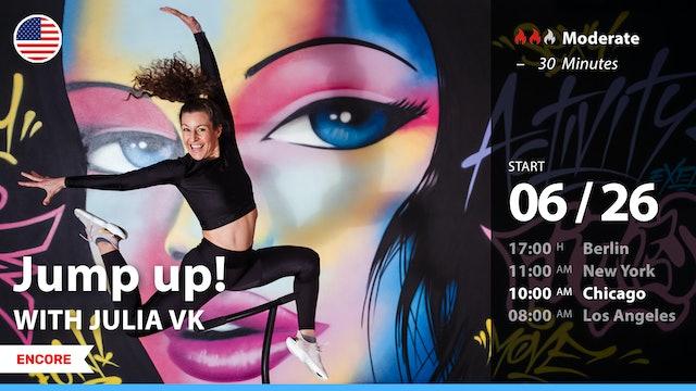 [ENCORE] Jump up! | 6/26/21 | Julia vK.
