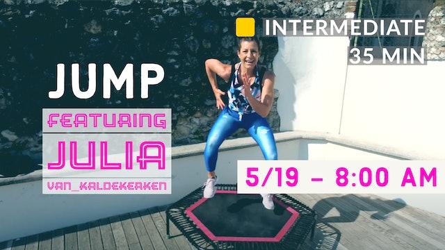 JUMPING CARDIO WEEK - Beginner Jump | 5/19/20 | Julia