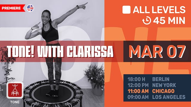 Tone up your Arms   3/7/21   Clarissa