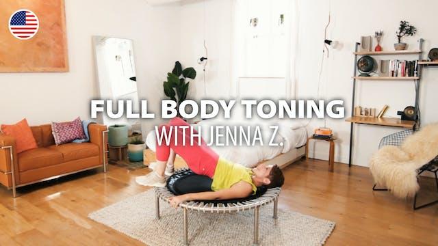 FULL BODY TONING with Jenna Z. | bell...