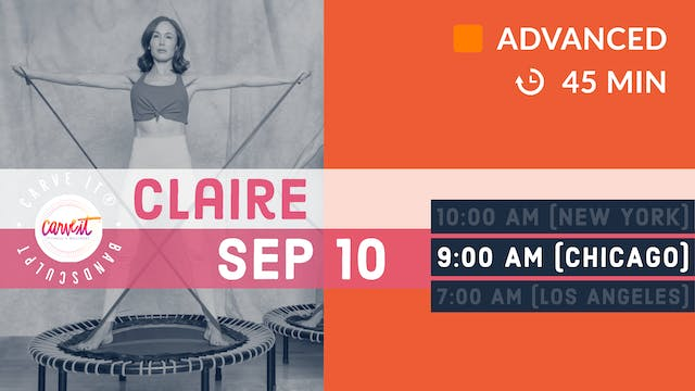 Carve It® BANDSCULPT | 9/10/20 | Claire