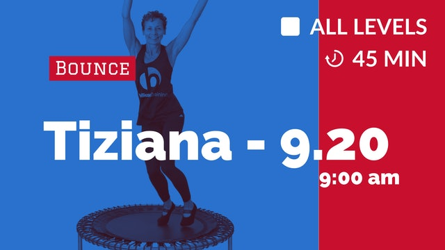 Sweat Those Inches Off  - Week 3 | 9/20/20 | Tiziana