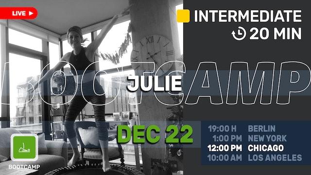 Bootcamp Express   12/22/20   Julie