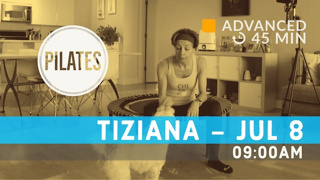 Reformer on the Mat | 7/8/20 | Tiziana