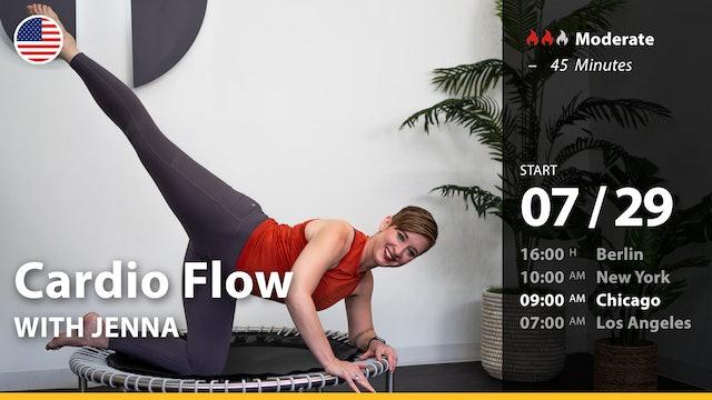 [PREMIERE] Cardio Flow | 7/29/21 | Jenna