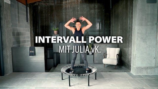INTERVALL POWER mit Julia vK | bellic...