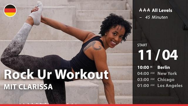[PREMIERE] Rock Ur Workout | 4/11/21 | Clarissa