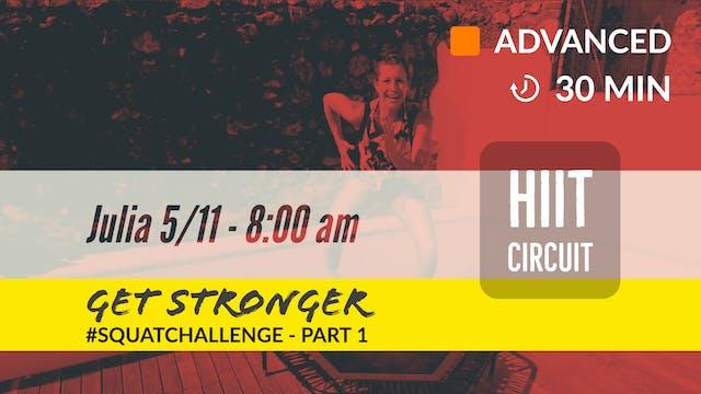 STRONGER CHALLENGE WEEK #1 Squat chal...
