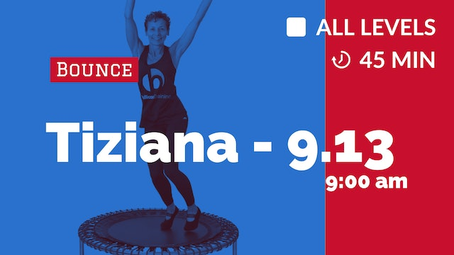 Sweat Those Inches Off - Week 2 | 9/13/20 | Tiziana