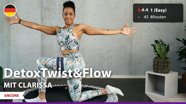[ENCORE] DetoxTwist&Flow | 9/30/21 | Clarissa