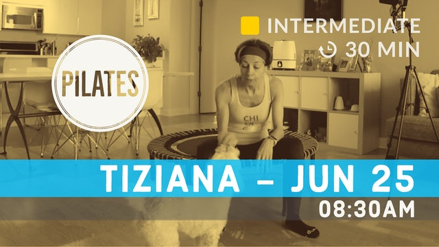 Pilates on a Chair | 6/25/20 | Tiziana