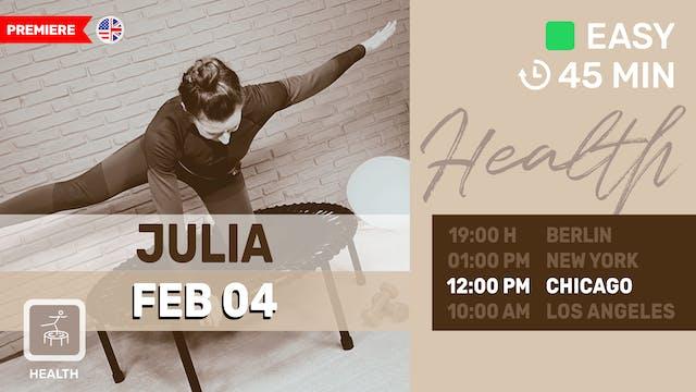 Feel Good Flow | 2/4/21 | Julia vK.